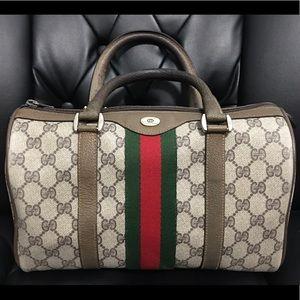 Authentic Gucci Vintage Boston